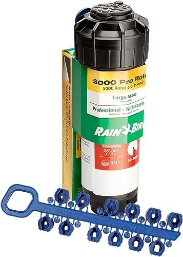 wholesale Rain Bird CP5004PC Pro online sale Rotor sale with Pro Nozzle Set, 40° - 360° Pattern, 25' - 50 Spray Distance outlet online sale