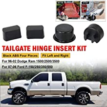 IRONTEK Tailgate Hinge Kit Compatible for 1999-2006 Chevy Silverado GMC Sierra 2005-2006 Hummer Pack of 4 2007 Classic