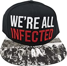 The Walking Dead AMC We're All Infected Black Snapback Hat