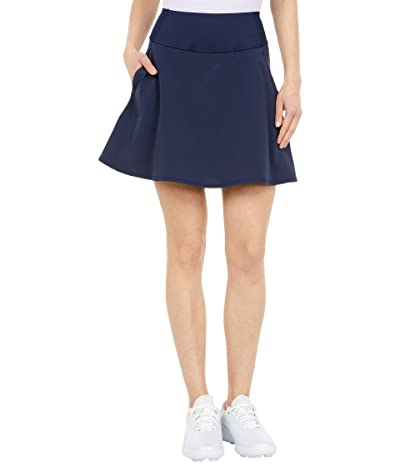 PUMA Golf PWRSHAPE Solid Woven Skirt (Navy Blazer) Women