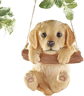 Hang Around Pets Tree Decoration with 7in Rope for Easy Hanging, Hand Painted Decorative Accent - Gift Ideas for Pet Owners, Multicolored