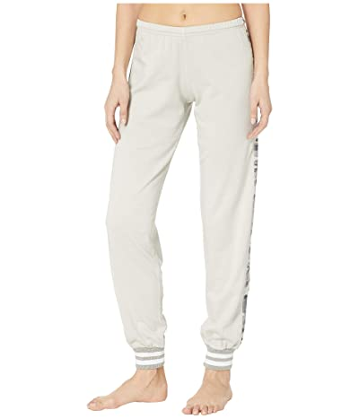 Hard Tail OG Sparkle Racer Stripe Pull-On Sweatpants (Concrete) Women