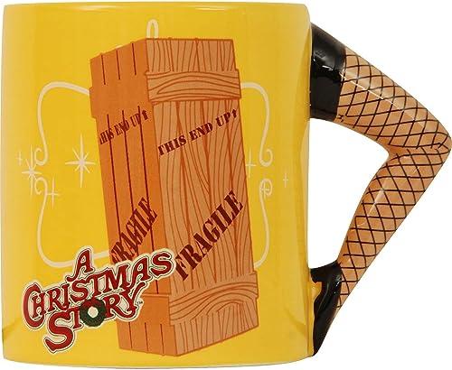 bajo precio A A A Christmas Story Sculpted Handle Mug Leg Lamp Crate  ¡envío gratis!