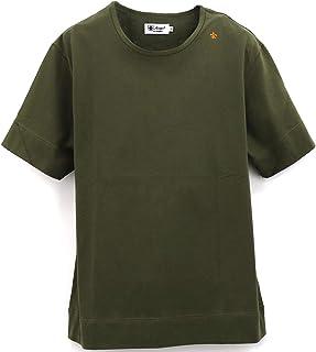 [Sweep!! LosAngeles スウィープ ロサンゼルス] メンズ コットン 半袖 クルーネックTシャツ BASIC T SHIRTS SL160001 KHAKI(カーキ)