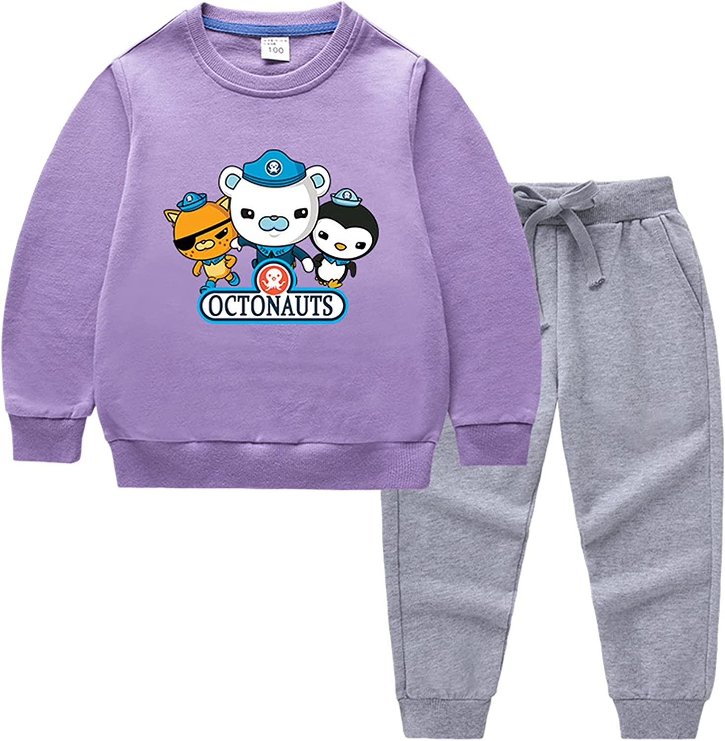 GD-Clothes Kids Crewneck The Sweater-Cartoon Very popular Max 51% OFF Octonauts Pullover