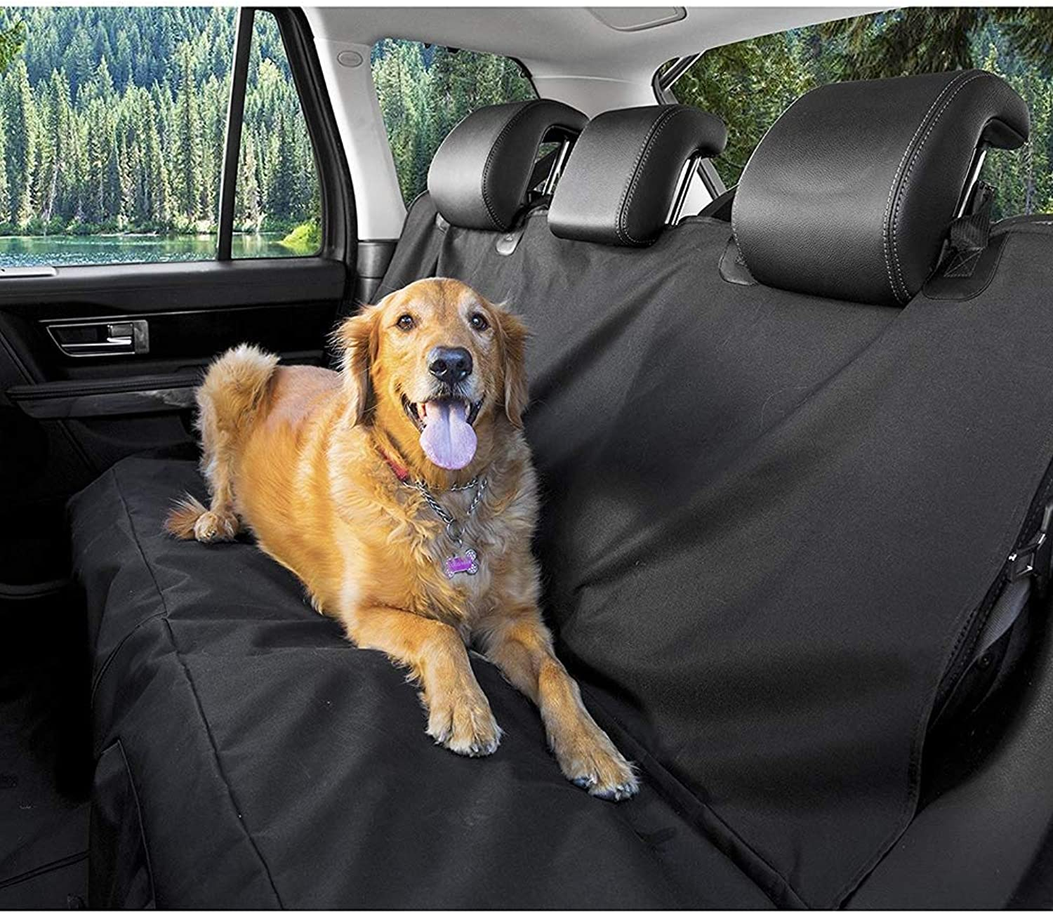 Dog Seat Cover, Waterproof Dog Car Seat Covers, Car Boot Predector Nonslip ScratchProof Universal Fit All Cars