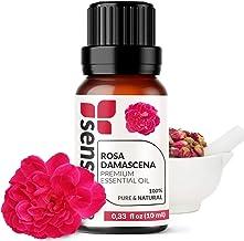 Rose Damascena Essential Oil - 100% Pure Extract Rose Oil Therapeutic Grade ( 0.33 Fl Oz / 10 ml)