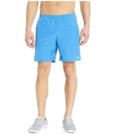 Nike 7 Run Shorts Brief (Pacific Blue/Reflective Silver) Men