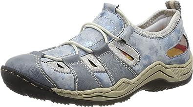 Rieker Femme Chaussons et Mocassins L0561 Dame Chaussures /à Enfiler,Slip on