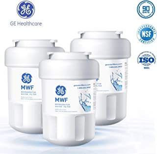 GE MWF Refrigerator Water Filter, Replacement MWFA, MWFP, GWF, GWFA, Kenmore 9991, 46-9991, 469991(3 Packs), White