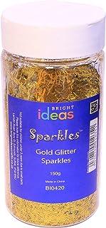 Bright Ideas Glitter, Gold, 150g