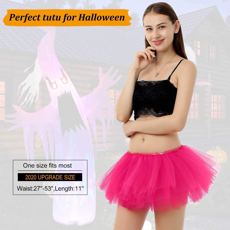 MAGIFIRE Womens Halloween Costume Tutu Skirt for Run Walk Festival Rave Dress