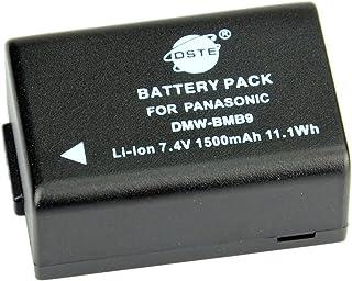 DSTE® DMW-BMB9E Li-ion Batería para Panasonic LumiMC-FZ47 DMC-FZ48 DMC-FZ60 DMC-FZ62 DMC-FZ70 DMC-FZ72 DMC-FZ100 DMC-FZ150 LEICA V-Lux2 LEICA V-Lux3 Cámara come DMW-BMB9 DMW-BMB9PP BP-DC9