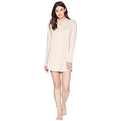 Skin Sleep Shirt (Cafe Creme/White) Women