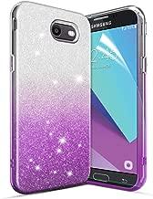 Glitter Case for Galaxy J7 2017/Galaxy J7 Prime/Galaxy J7 Sky Pro/J7 V J7V 2017/Halo/Galaxy J7 Perx Case[Super Sparkly][Slim 3 Layers Hybrid][Anti-Scratch]Bling Phone Case for Girls/Women-Purple