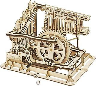 Rolife 3D Wooden Puzzles Christmas, DIY Wood Craft Models Kits Decr, Educational Assembly Mechanical Vintage Building, Gif...