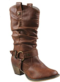 Women Wild-02 Western Style Cowboy Boots