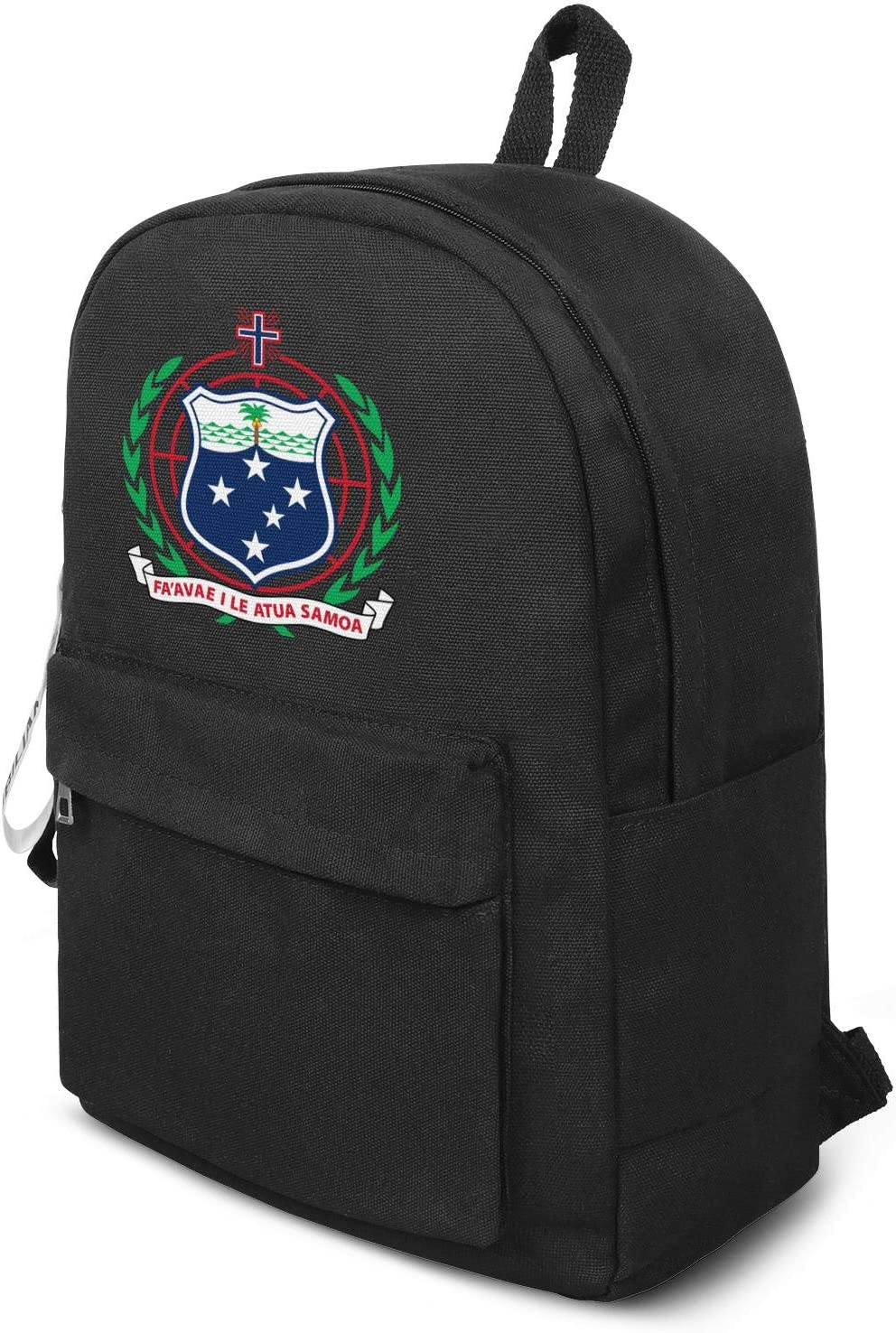 Travel Laptop Backpack American Samoa Coat Of Arms Student Rucksack for Travel Outdoor Camping Computer Bag