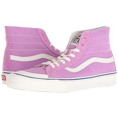Vans SK8-Hi 138 Decon SF ((Salt Wash) Violet/Marshmallow) Skate Shoes