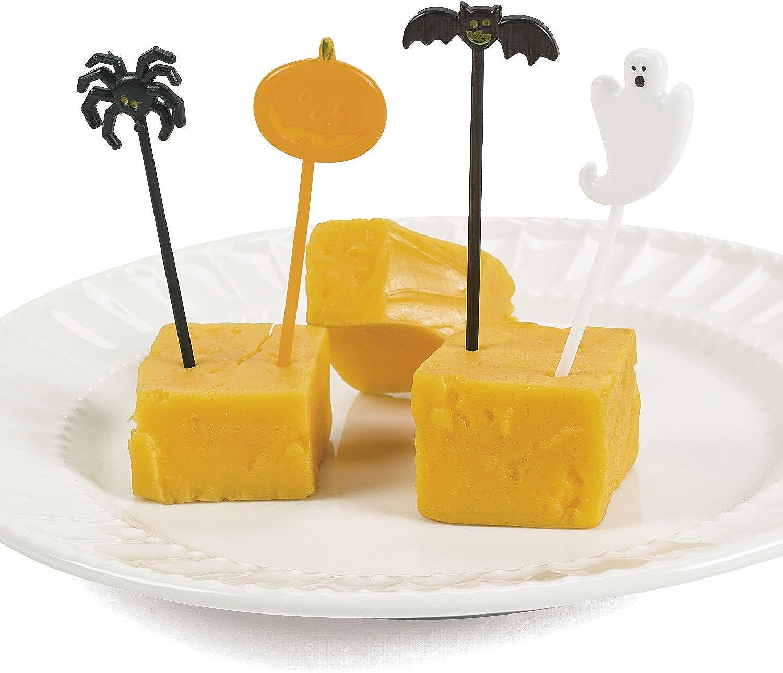 Halloween Food Picks   package of 72