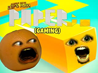 Clip: Annoying Orange Let's Play - Paper.io (Gaming)