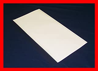 """10 pack 10"""" x 21"""" Brodart Just-A-Fold III Archival Book Covers - adjustable, clear mylar"""