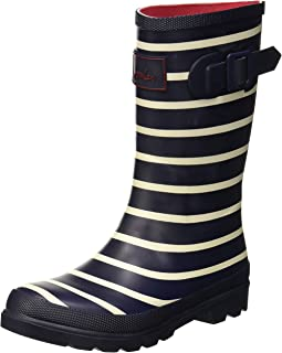 Joules Kids Baby Boy's Welly Boot (Toddler/Little Kid/Big Kid) French Navy Stripe 12 M US Little Kid