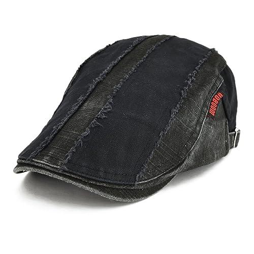 5136fecbce8 VOBOOM 100% Cotton Distressed Ivy Caps Newsboy Caps Cabbie Hat Gatsby Hat