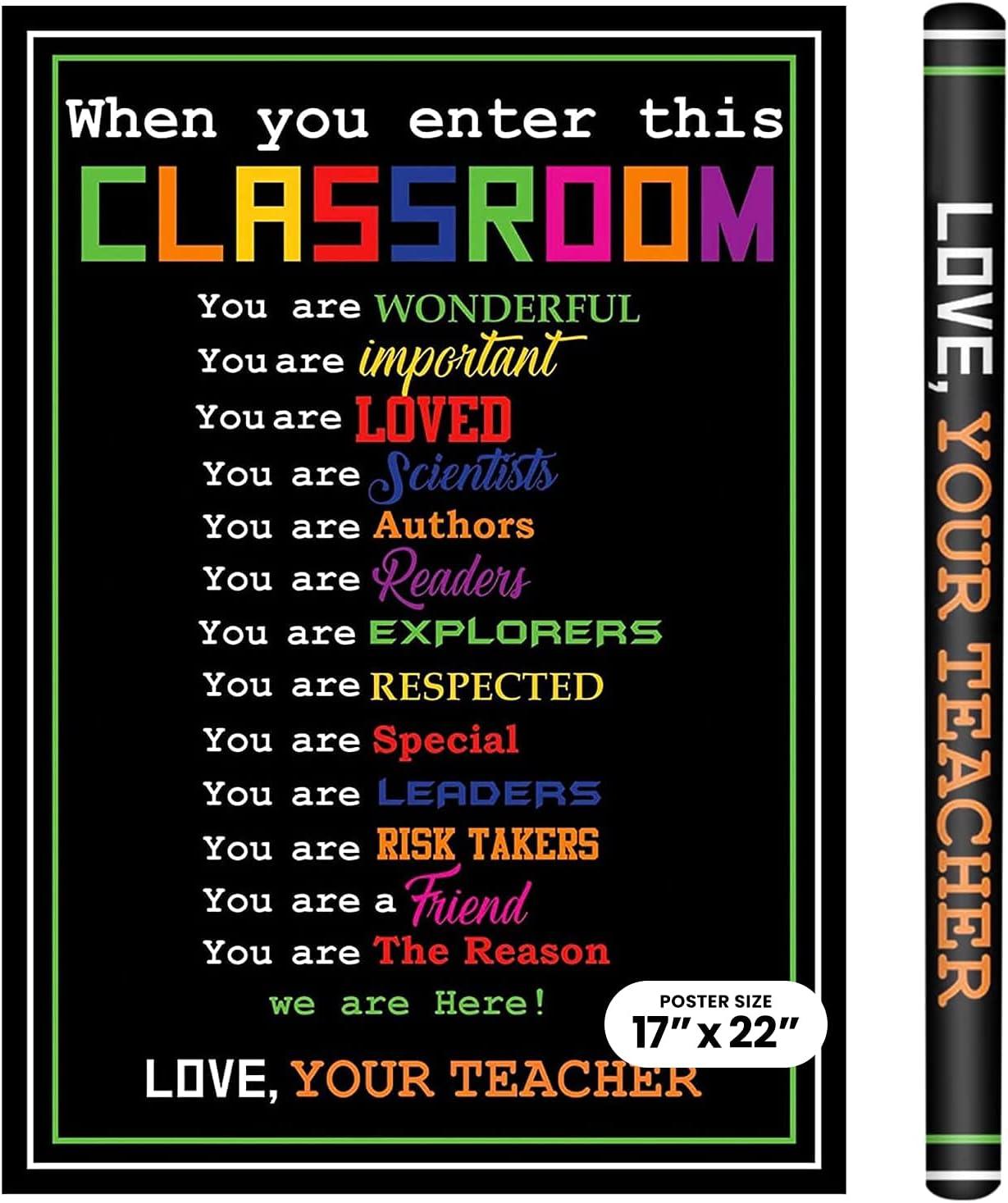 "17"" x 22"" School Popularity Super-cheap Smarts Inspirational Classr Laminated"
