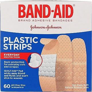 نوارهای پلاستیکی BAND-AID همه یک سایز 60 هر کدام (بسته 5 عددی)