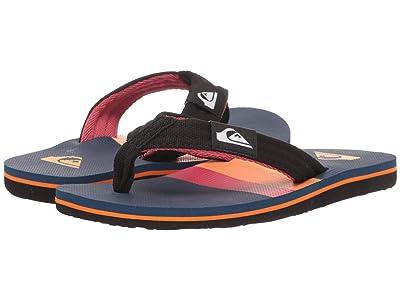 Quiksilver Kids Molokai Layback (Toddler/Little Kid/Big Kid) (Black/Red/Blue) Boys Shoes