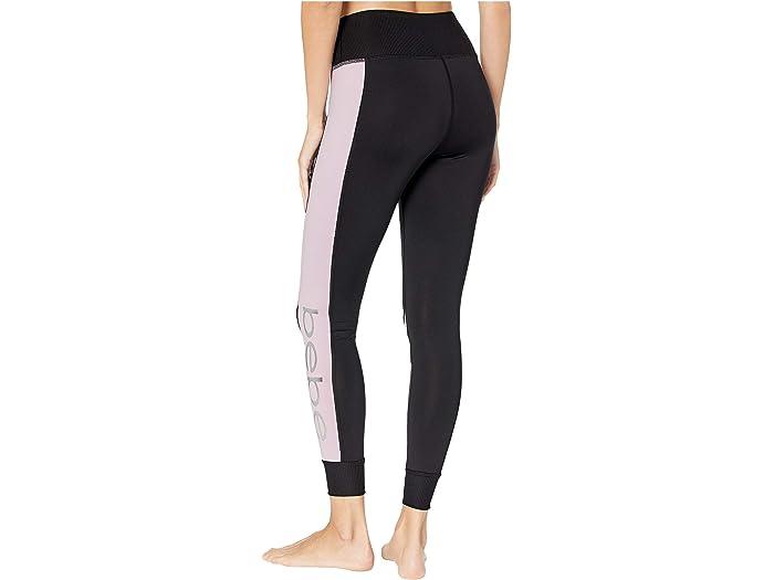 Bebe Sport Blocked Logo Leggings Jogger - Women Clothing