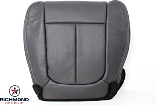 Richmond Auto Upholstery - Driver Side Bottom Replacement Perforated Leather Seat Cover, Black (Compatible with 2009-2014 Ford F150 F-150 Sport)