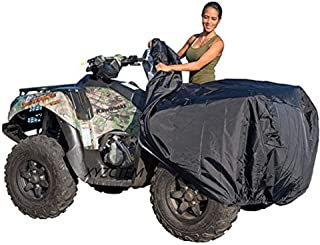 Best XYZCTEM Waterproof ATV Cover, Heavy Duty Black Protects 4 Wheeler from Snow Rain or Sun, Large Universal Size Fits 103 inch for Most Quads Review