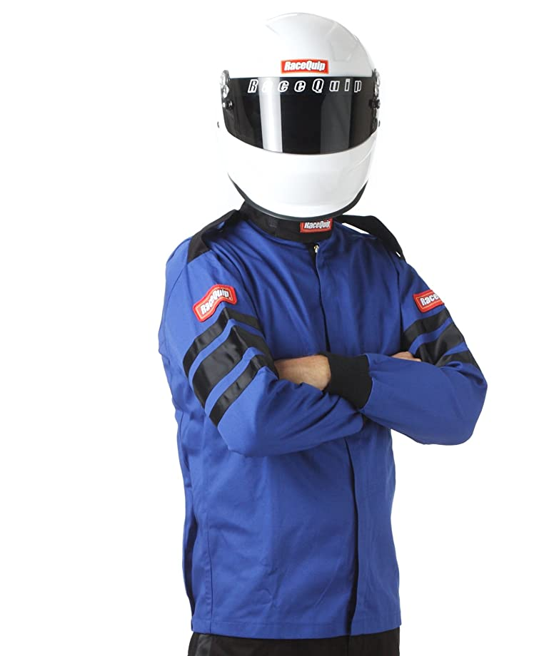 RaceQuip 111028 111 Series XXX-Large Blue SFI 3.2A/1 Single Layer Driving Jacket