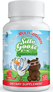 MEGA Multivitamin - Kosher, Healthy, Complete Gummy Vitamins For Kids - 23 Essential Vitamins & Minerals - No Artificial Flavors Or Colors - 120 Ct, 60 Day Supply