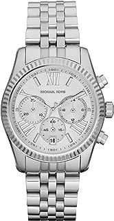 Michael Kors Womens Quartz Watch, Analog Display and Stainless Steel Strap MK5555