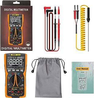 HELYZQ Multímetro digital inteligente 999 Counts True RMS Transistor NCV Testador LCR Medidor