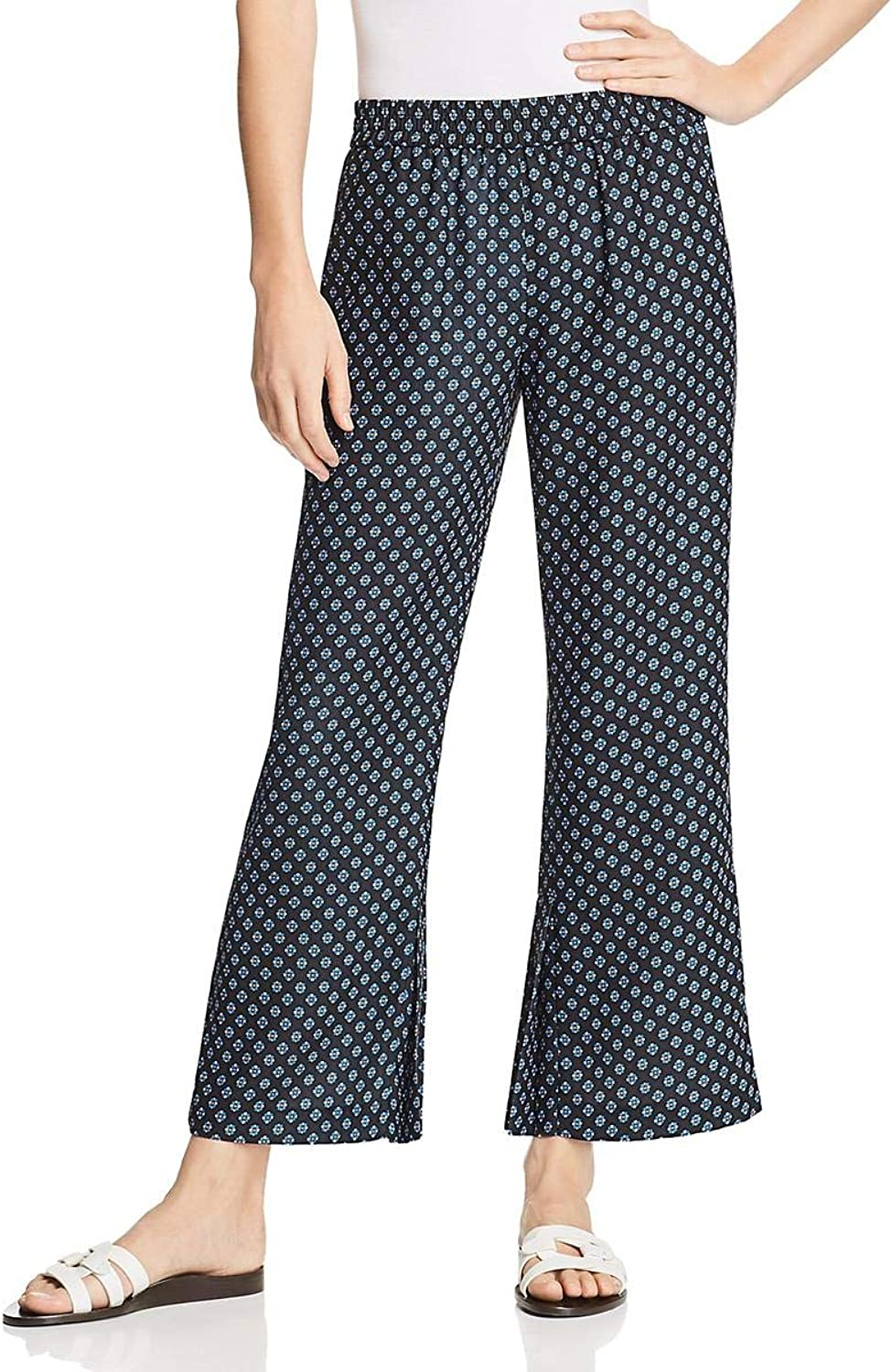 Le Gali Womens Magee Crepe Flat Front Casual Pants