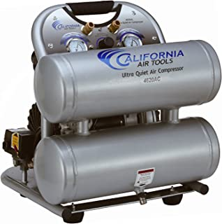 California Air Tools CAT-4620AC Ultra Quiet & Oil-Free 2.0 hp 4.0 gallon