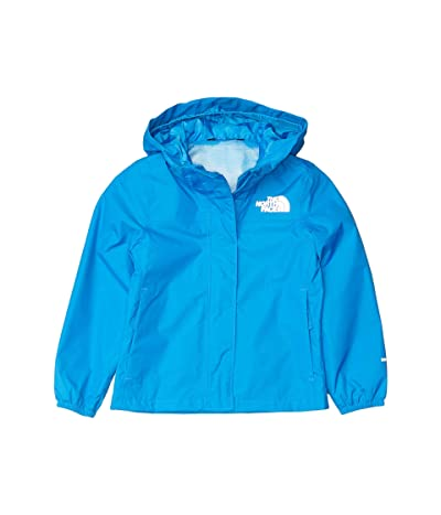 The North Face Kids Resolve Rain Jacket (Little Kids/Big Kids) (Clear Lake Blue) Girl