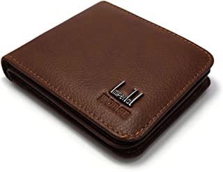 محفظه هورس امبيريال ذو جوده عاليه للرجال من الجلد لون هافان