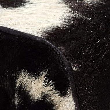 Tidyard Banc en Cuir Véritable de Chèvre Style Rétro Surface Polie, Peinte et Laquée 120 x 30 x 45 cm