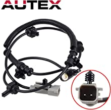 AUTEX ABS Wheel Speed Sensor Front Left/Right 56044144AD ALS2113 compatible with Jeep Grand Cherokee & Commander 2005 2006 2007 2008 2009 2010/Jeep Commander 2006-2010/Jeep Wrangler 2007-2010