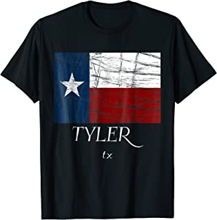 3dRose Alexis Design Blue Text Texas Patriotic Home Town Design red Texas City T-Shirts American Cities Texas