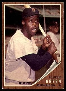 Baseball MLB 1962 Topps #153 Pumpsie Green EX Excellent Red Sox