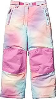 Girls' Water-Resistant Snow Pant