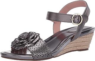 Taryn Rose Women's Ankle Strap Espadrille Wedge Sandal