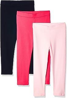 Amazon Essentials Girls 3-Pack Leggings