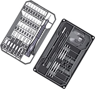 Precision Screwdriver Set, JAKEMY 73 in 1 S2 Screwdriver Bits Repair Tool Kit Electronics Magnetic Driver Kit with Flexibl...
